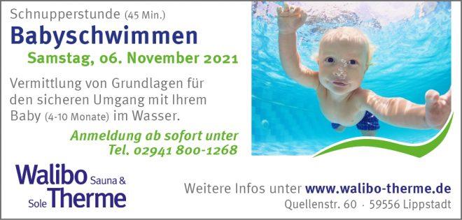 Babyschwimmen - 4 bis 10 Monate Kursinhalte 1